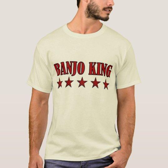Funny Banjo King T-shirt