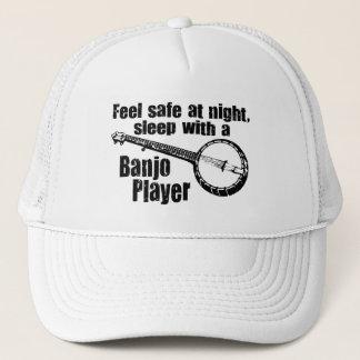 Funny Banjo Trucker Hat