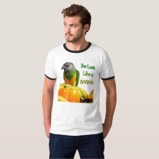 Funny Bannana Saying Parrot Humor T-Shirt