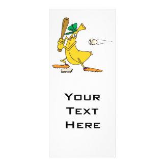 funny baseball banana rack card