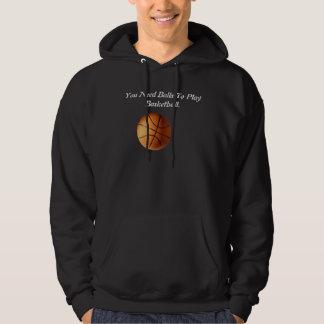 Funny Basketball Balls Logo, Hoodie