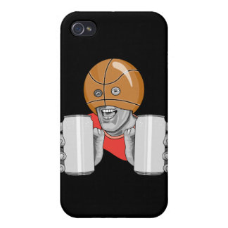 funny basketball fan fanatic iPhone 4 covers