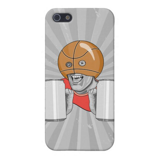 funny basketball fan fanatic covers for iPhone 5