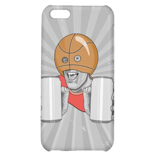 funny basketball fan fanatic iPhone 5C cases