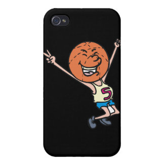 funny basketball fan mascot iPhone 4/4S cover