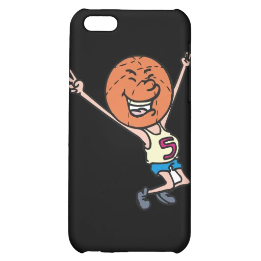 funny basketball fan mascot iPhone 5C case
