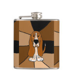 Funny Basset Hound Dog Art