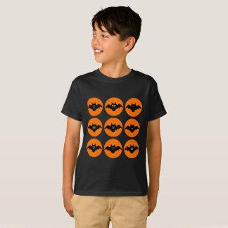 Funny Bats Emojis Patter Halloween  Tee