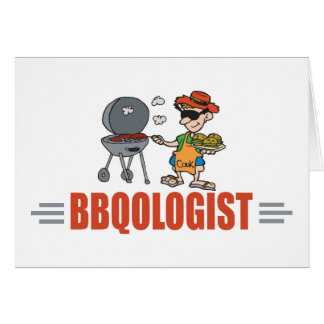 Funny BBQ Card