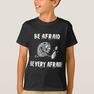 Funny Be Afraid Bowling T-Shirt