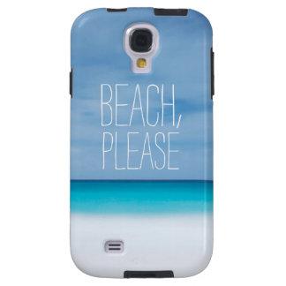 Funny beach, please tropical ocean photo hipster galaxy s4 case