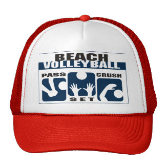 Funny Beach Volleyball Gift Trucker Hat