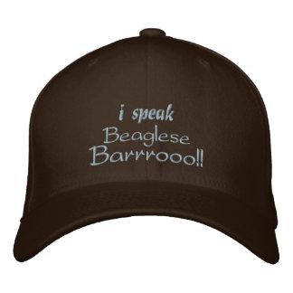 Funny Beagle Bark Embroidered Baseball Caps