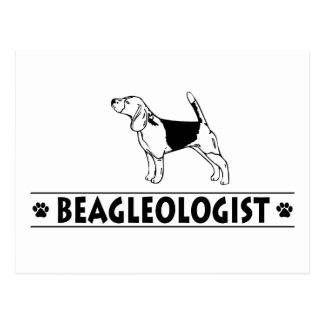 Funny Beagle Dog Postcard
