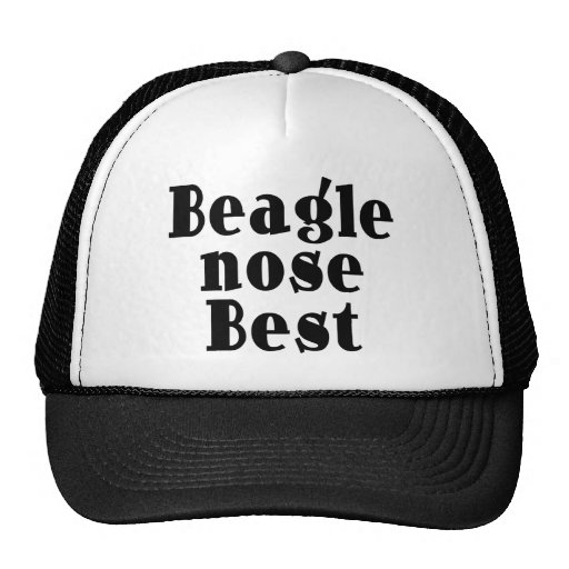 Funny Beagles : Beagle Nose Best Trucker Hat