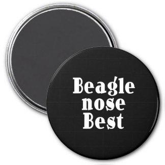 Funny Beagles Beagle Nose Best Refrigerator Magnet