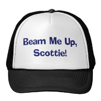 Funny Beam Me Up T-shirts Gifts Mesh Hat