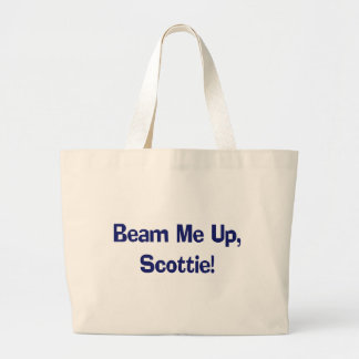 Funny Beam Me Up T-shirts Gifts Jumbo Tote Bag