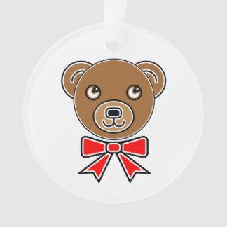 Funny bear face