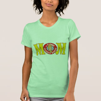 Funny Bearded Mom Mothers Day Gifts T-Shirt
