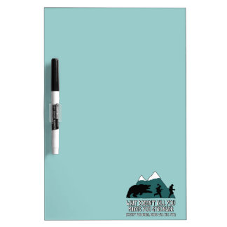 Funny bears dry erase boards