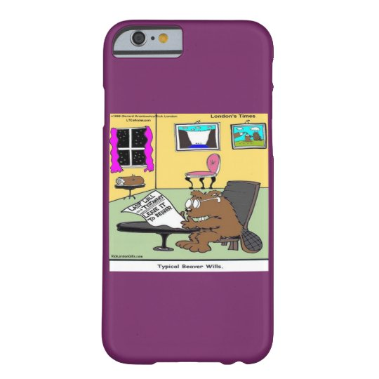 Funny Beaver Living Will Rick London iPhone 6