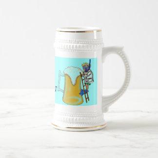 Funny beer diving mug