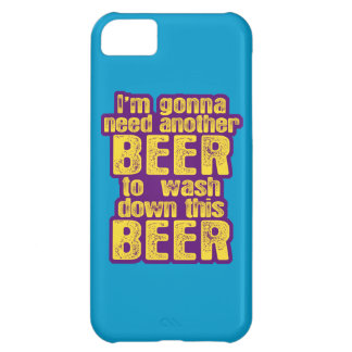 Funny Beer Drinking iPhone 5C Case