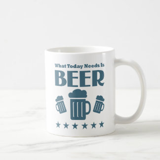 Funny Beer Drinking Slogan Mugs