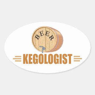 Funny Beer Keg Sticker