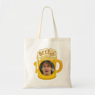 Funny Beer Me Drinking Humor | Personalized Photo Tote Bag