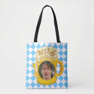 Funny Beer Me Oktoberfest Drinking Humor | Photo Tote Bag