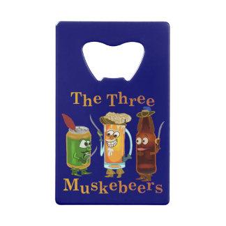 Funny Beer Pun Three Muskebeers