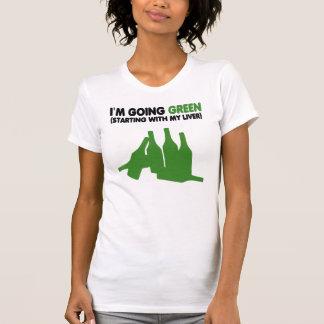 Funny beer slogan,green beer t-shirt