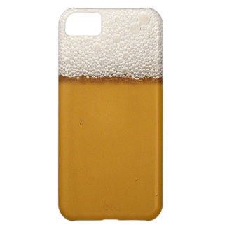 Funny Beer with Foam Printed iPhone 5C Case