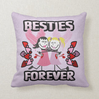 Funny BFF Best Friends Forever Cushion