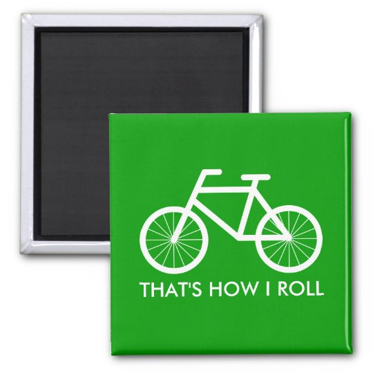 Funny bicycle magnets for bike riding fans