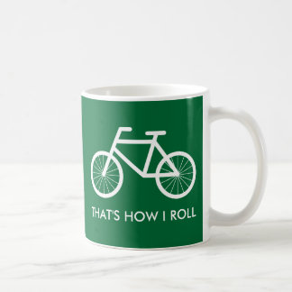Funny bicycle mug for bike riding enthusiasts