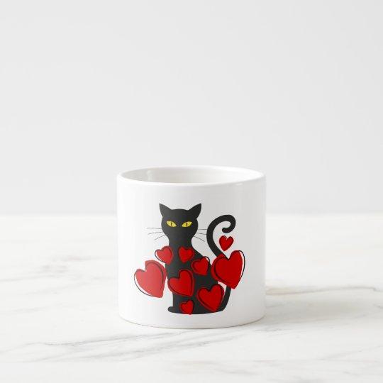 Funny Big Black Cat Mug