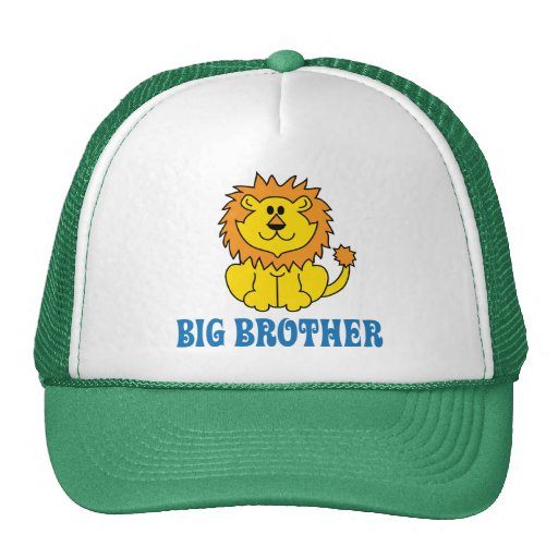 Funny Big Brother Mesh Hat