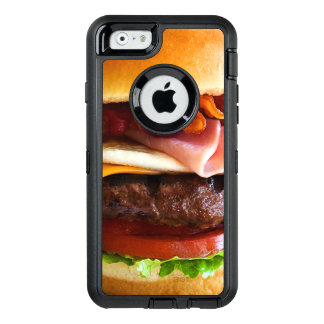 Funny big burger OtterBox defender iPhone case