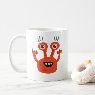 Funny Big Eyed Smiling Cute Monster Coffee Mug
