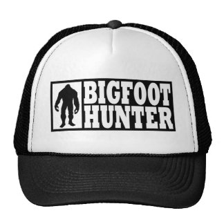 Funny BIGFOOT HUNTER Hat - Finding Bigfoot