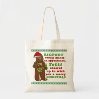 Funny Bigfoot Merry Christmas Sasquatch Pun