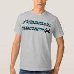 Funny Bike vs Car T-Shirt