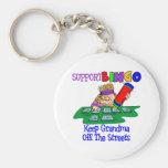 Funny Bingo Grandma Gift Key Chain