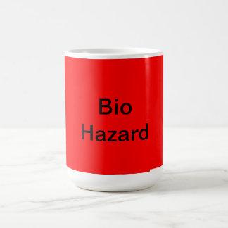 Funny Bio Hazard coffee mug