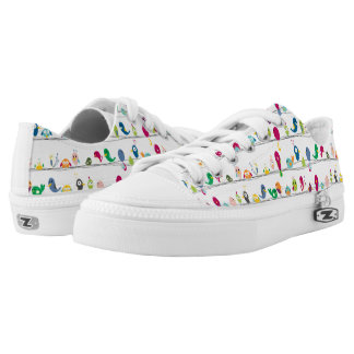 Funny Birds Low-Top Sneakers