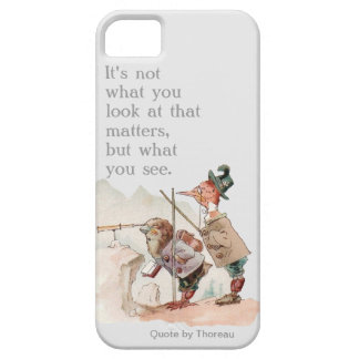 Funny Birds with Motivational Quote iPhone 5 Cover