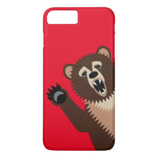 Funny Birthday Bear iPhone 7 Plus Case